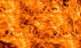 Orange flame background Stock Photo