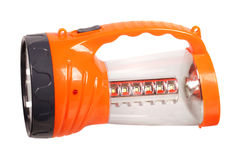 Orange flashlight Royalty Free Stock Photo
