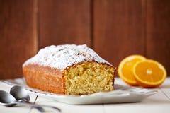Orange Flavoured Cake Royalty Free Stock Photography