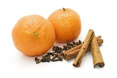 Orange and flavouring stock photography