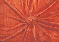 The orange fleecy cloth, Stock Photography