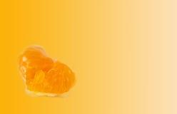Orange flesh Stock Photo