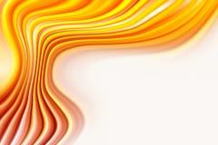 Orange flow Royalty Free Stock Images