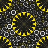 Orange Flower Seamless Pattern Lemon Royalty Free Stock Photography