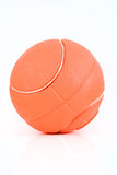 Orange foam basketball Royalty Free Stock Photo