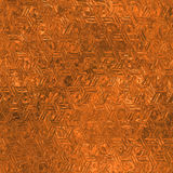 Orange Foil Seamless and Tileable Background Texture. Royalty Free Stock Image