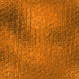 Orange Foil Seamless and Tileable Background Texture. Stock Photo