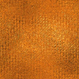 Orange Foil Seamless and Tileable Background Texture. Stock Image