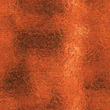 Orange Foil Seamless and Tileable Background Texture. Orange foil seamless and tileable luxury and shiny  holiday background texture Royalty Free Stock Images