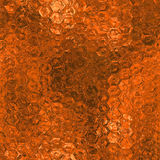 Orange Foil Seamless and Tileable Background Texture. Orange foil seamless and tileable luxury and shiny  holiday background texture Stock Photos