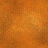 Orange Folie nahtlose und Tileable-Hintergrund-Beschaffenheit Stockbild