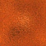 Orange Folie nahtlose und Tileable-Hintergrund-Beschaffenheit Stockbilder