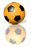 Orange football Stock Photography