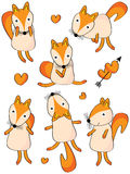 Orange Fox Stock Images
