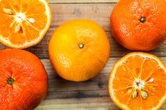 Orange fraîche Photographie stock libre de droits