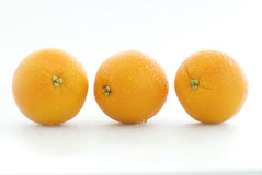 Orange fraîche Images libres de droits