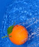 Orange fraîche Images libres de droits