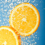 Orange fraîche Image stock