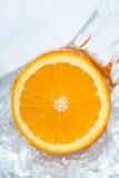 Orange fraîche Photo libre de droits