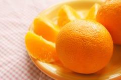 Orange fraîche Image libre de droits