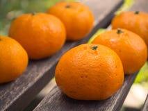 Orange fraîche Photographie stock