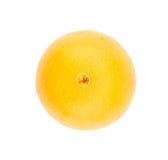 Orange fraîche d'isolement sur le fond blanc Photo libre de droits