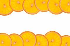 Orange frame Royalty Free Stock Photos