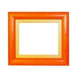 Orange frame Stock Images