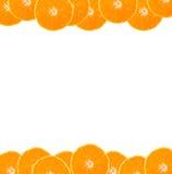 Orange frame Stock Photos