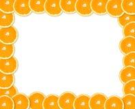 Orange frame Stock Photo