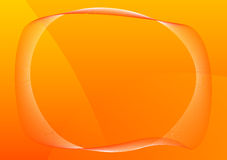 Orange frame Royalty Free Stock Images