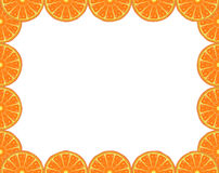 Orange frame Royalty Free Stock Photos