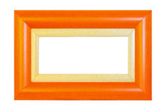 Orange frame panorama Royalty Free Stock Images