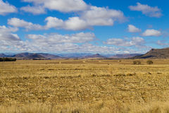 Orange Free State panorama, South Africa Royalty Free Stock Image