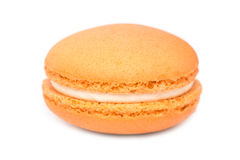 Orange French Macaroon Stock Photos