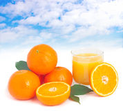 Orange fresh. Stock Photo
