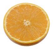 Orange. Fresh halved orange half fruit Stock Photos