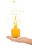 Orange fresh juice Royalty Free Stock Images