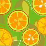 Orange Fresh Taste Stock Images
