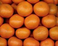 Orange frisches auf thailändischen Märkten lizenzfreies stockfoto