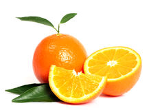 Orange Frucht Stockbild