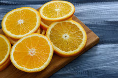 Orange Frucht Stockbild