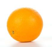 Orange Frucht auf Weiß Lizenzfreie Stockfotografie