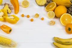 Orange Frucht und veg Stockfotos