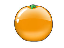 Orange Fruchtbonbon Lizenzfreies Stockbild