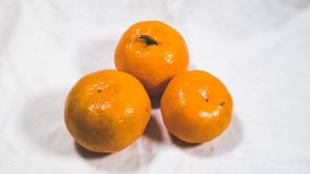 Orange Fruchtmaterial lizenzfreies stockbild