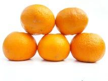 Orange Fruchtsaft und gesund stockbild