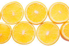 Orange fruit background. Stock Photos