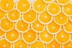 Orange Fruit Background. Summer Oranges Stock Photo