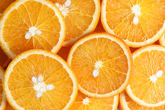 Orange fruit background Stock Photography